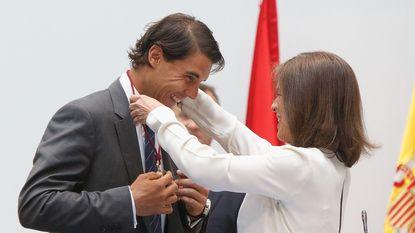 Rafael Nadal is ereburger van Madrid