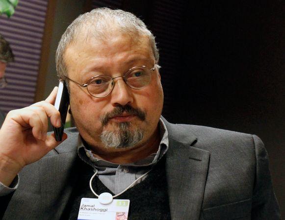 De Saoedische journalist Jamal Khashoggi.