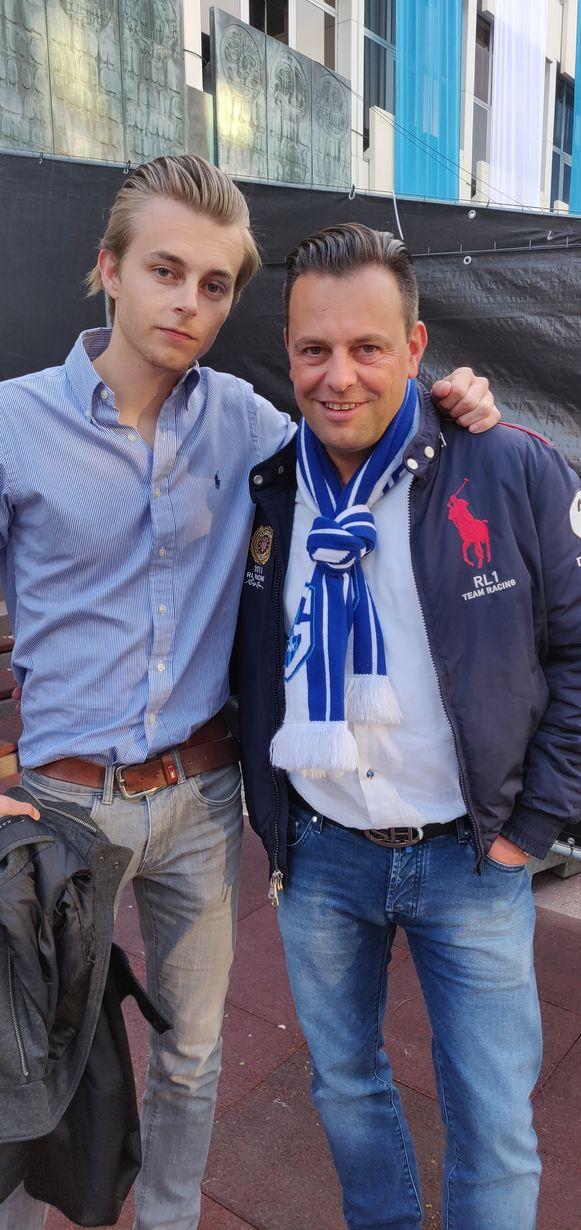 Gilles Guisson (links) en Kristof Stevens (rechts)