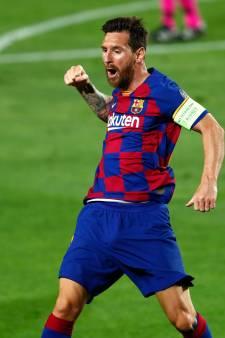 Barcelona dankzij stormachtige eerste helft naar kwartfinale Champions League
