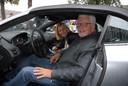 Jan Slagter, dit keer in de hoedanigheid van chauffeur voor de stichting Helden van de Zorg.
