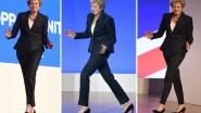 VIDEO. Britse premier Theresa May toont opnieuw haar beste danspasjes