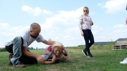 Oma Irene (85) mag geen duosprong maken