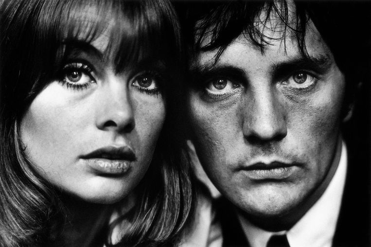 Terence Stamp en Jean Shrimpton, Londen, 1963. Beeld Terry O'Neill / Iconic Images