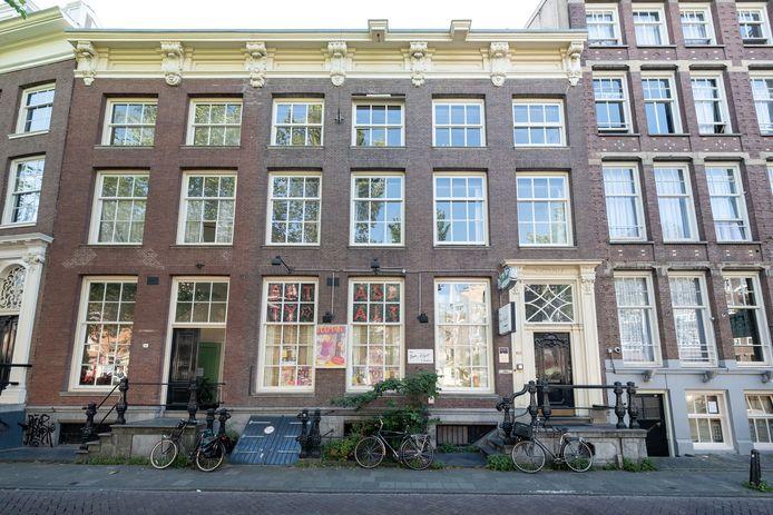 Het Betty Asfalt Complex op Nieuwezijds Voorburgwal 282.