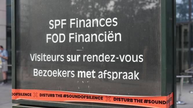 'Disturb the sound of silence' verhuist van social media naar de Wetstraat: eventsector kleeft oranje tape op overheidsgebouwen