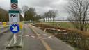 Ook de parkeerterreinen bij Strand Horst zuid zijn afgesloten.