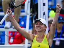 Simona Halep lonkt naar titel en hoogste positie