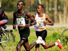 Nageeye loopt in mondiale marathonaflossing met toppers en recreanten