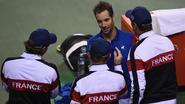 Frankrijk en Australië nemen foutloze start in Wereldgroep van Davis Cup