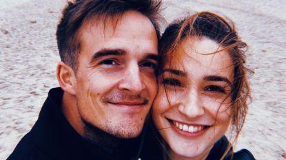 """'Familie'-actrice Jasmijn Van Hoof: """"Pieter-Jan bleef vanaf dag één bij mij slapen"""""""