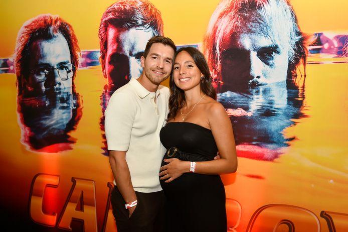 Matteo Simoni en zijn zwangere vriendin Loredana