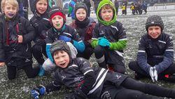 U8 Rugby Rhinos wint nationaal toernooi in Dendermonde