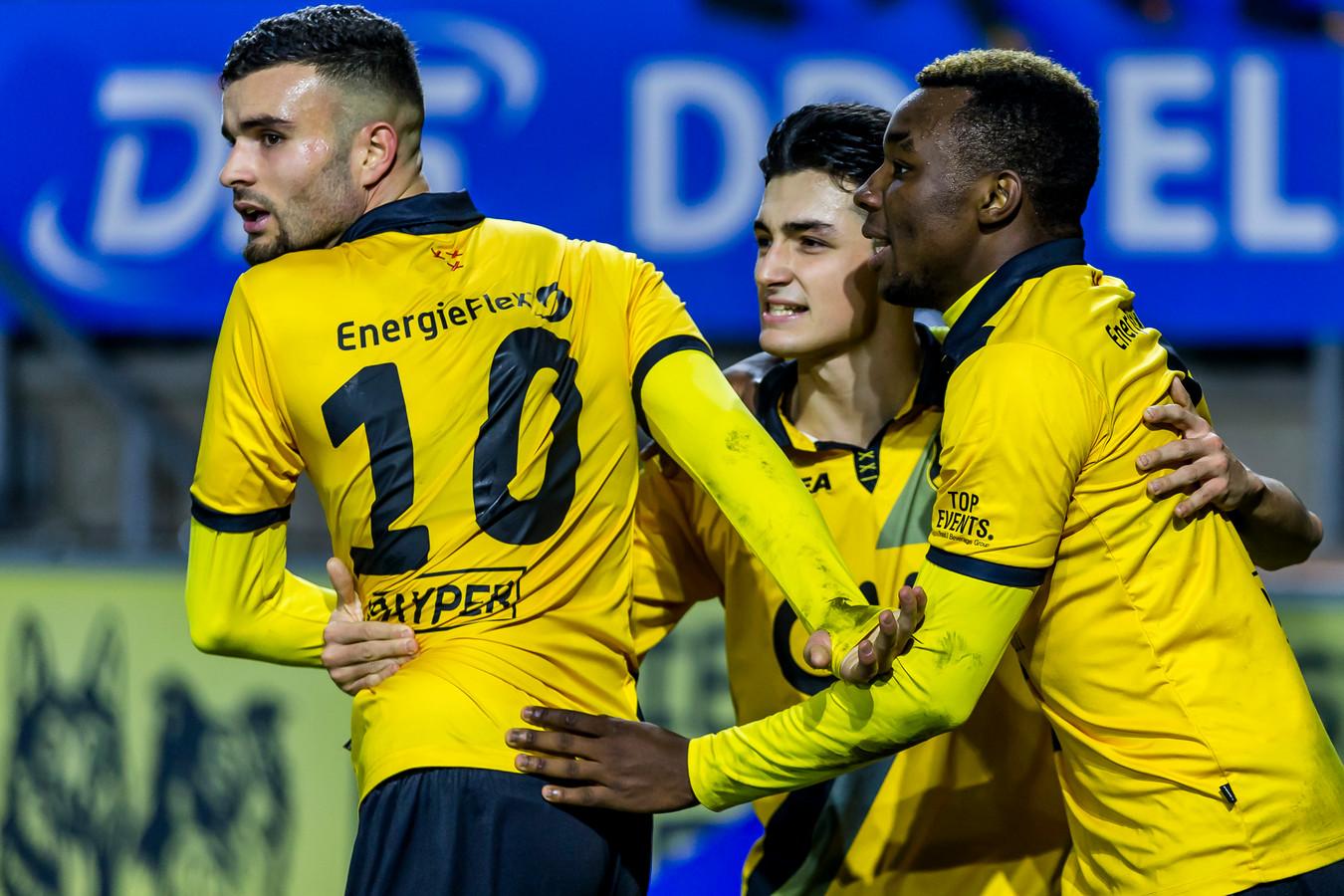 Rai Vloet (10), Manu García en Thierry Ambrose zijn allemaal vertrokken uit Breda.