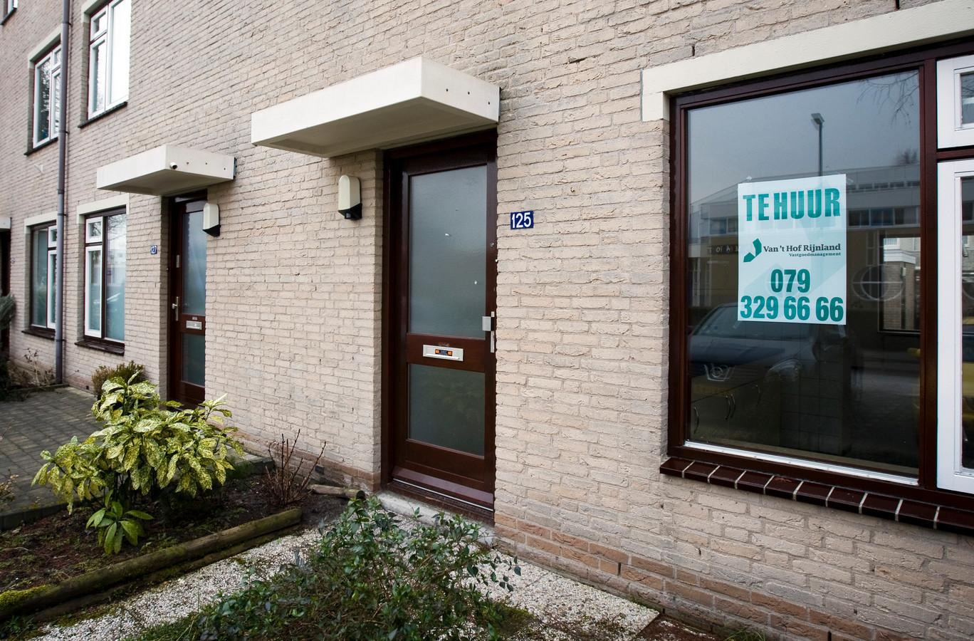 Woning te huur in Zoetermeer.
