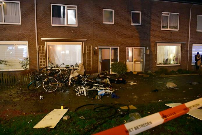 Eindhoven-  Aan de Petrus Canisiuslaan was een vuurwerkexplosie in een woning