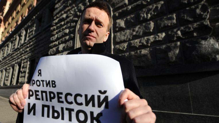 Alexej Navalny Beeld afp