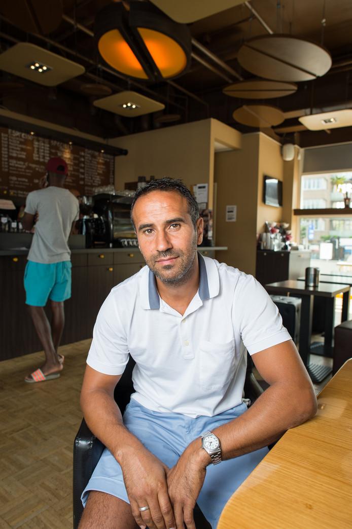 Dries Boussatta, eigenaar van koffieketen Buongiorno.