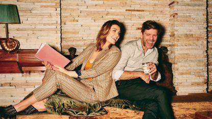 """""""We geloofden niet meer in de liefde, en toen vonden we elkaar"""", kijk mee achter de schermen van onze fotoshoot met Evi Hanssen en Kurt Loyens"""