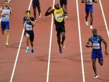 Bolt houdt spierscheuring over aan laatste optreden als atleet
