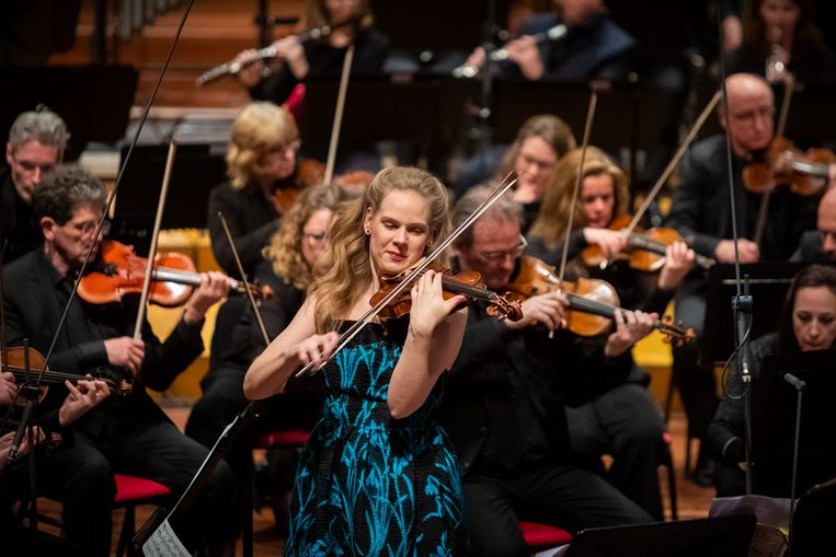 Simone Lamsma speelt het Eerste vioolconcert van Prokofjev. Beeld null