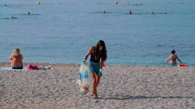Maximaal 20 stukken afval per 100 meter is de nieuwe norm voor Europese stranden