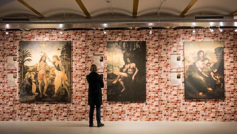 De Beurs van Berlage hangt vol met reproducties Beeld Marijke Stroucken