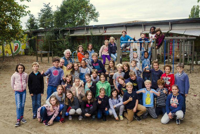 De leerlingen van de Guido Gezelleschool kijken al uit naar de verhuis naar de nieuwe Parkschool.
