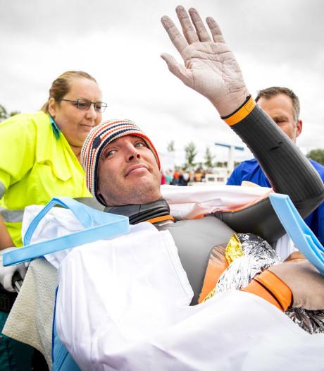 Elfstedentocht Van der Weijden eindigt in ziekenhuis