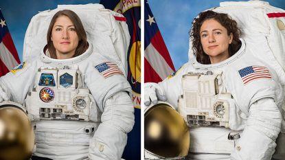 Een kleine stap voor twee vrouwen, een grote voor de mensheid