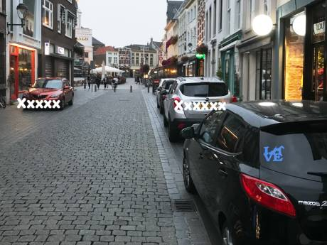 'Parkeerchaos in centrum Bergen op Zoom escaleert'