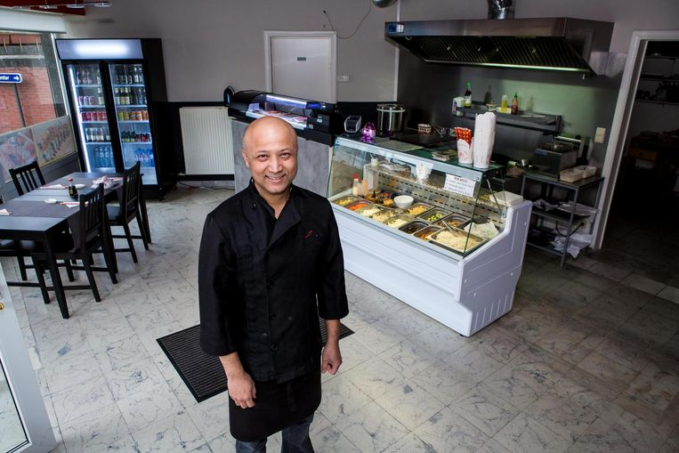 Shambhu Shakya opende de eerste sushibar van Bredene.