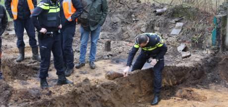 Mogelijk explosief aangetroffen bij werkzaamheden in Baarn