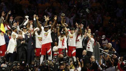 Curry & co op de knieën: niet Warriors, wel Toronto Raptors nieuwe kampioen van de NBA