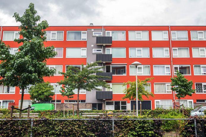 Een flat met sociale huurwoningen in de Utrechtse wijk Kanaleneiland.