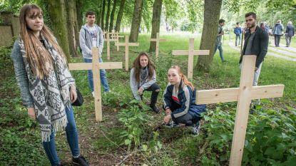 Leerlingen VABI en MSKA herdenken WOI met kunst