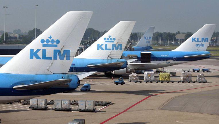 De vijfde plek betekent voor KLM een lichte verbetering ten opzichte van een jaar geleden, toen de maatschappij zesde werd. Beeld anp