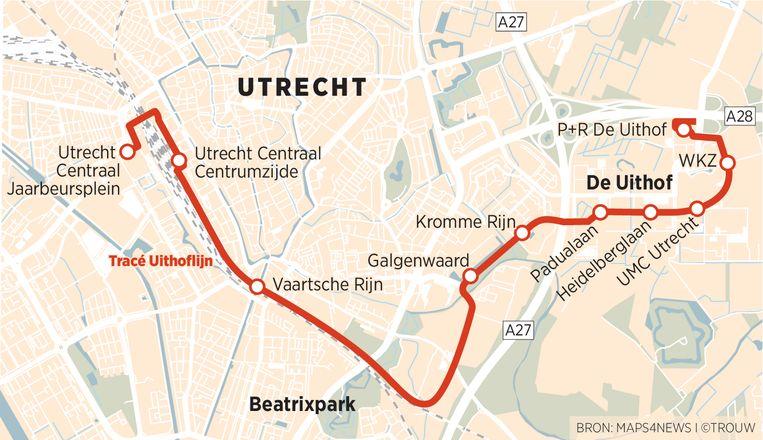 Uithoflijn Utrecht Beeld Brechtje Rood