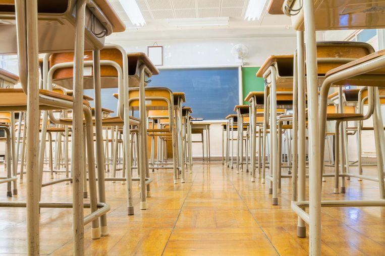 Het voorbeeld van verkrachting  kwam slecht aan bij het meisje én bij de rest van klas. Uit solidariteit wilde geen enkel meisje gisteren nog naar de les LO.