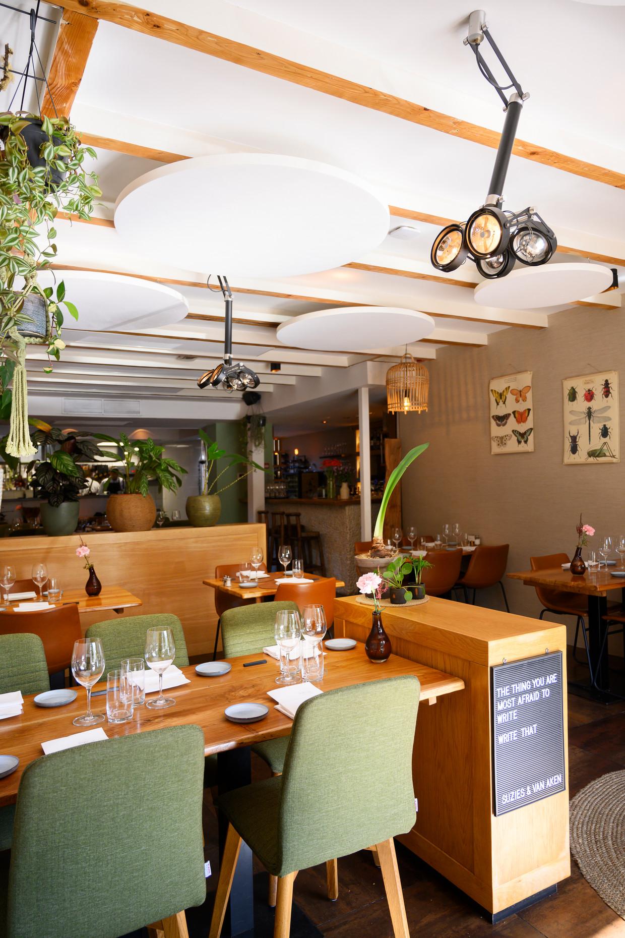 Restaurant Suzie's & van Aken in Oegstgeest Beeld Els Zweerink