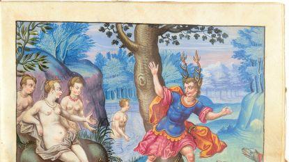 """Vierhonderd jaar oud """"livre d'amour"""" voor 95.000 euro geveild in Brussel"""