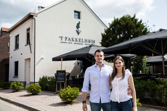 Bert en Adeline van 't Fakkelhuis in Borgloon.