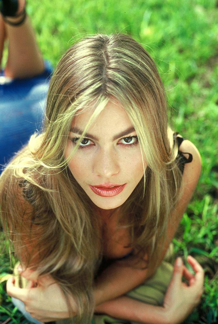 Sofia Vergara is eigenlijk blond.