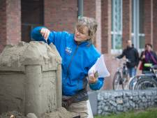 Wageningen Campus organiseert World of Sand: 'Weg is weg, je kan er niets meer aan plakken'