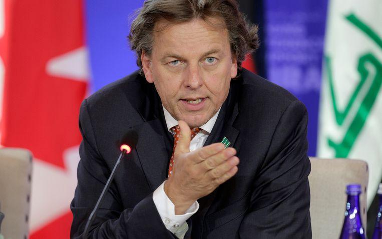 Minister Bert Koenders van Buitenlandse Zaken. Beeld reuters