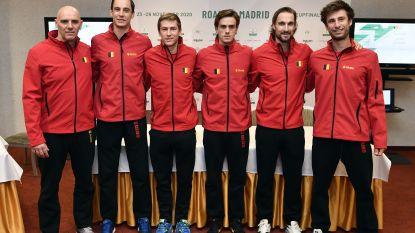 Bemelmans opent Davis Cup tegen nummer 76 - opmerkelijk beeld bij loting tussen Italië en Zuid-Korea door coronavirus