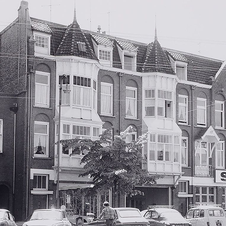 Het huis van Etty Hillesum aan de Gabriël Metsusstraat nummer 6. Beeld Stadsarchief Amsterdam