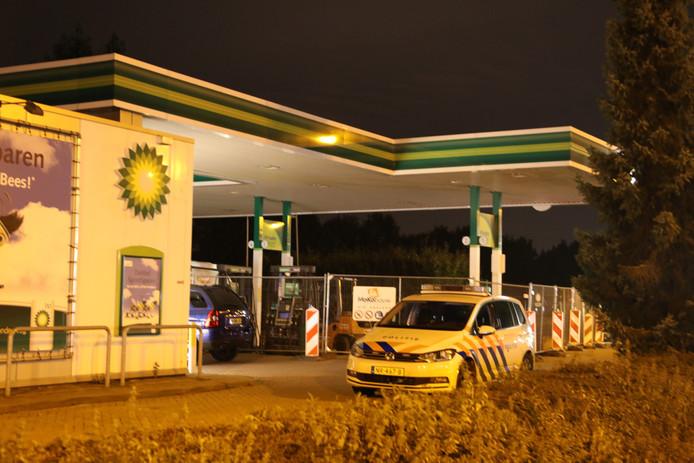 Tankstation BP aan de Udenseweg in Veghel werd opnieuw overvallen.