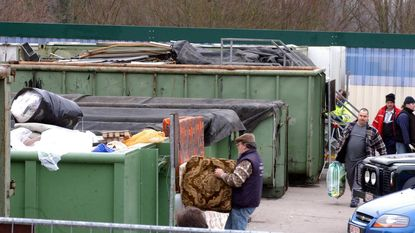 Pleidooi voor weegbrug op containerpark