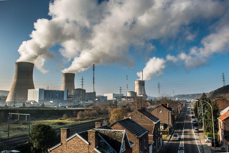 De kerncentrale van Tihange